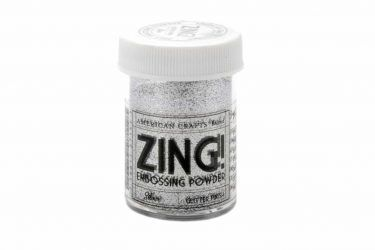 polvos embossing zing silver glitter 375x250 - POLVOS EMBOSSING - Zing! Silver Glitter